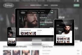Barber Shop Website Make A Responsive Barber Shop Website By Szsovi