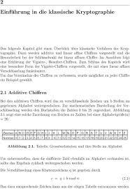 Anleitung Für Das Programm Der Klassichen Chiffre Pdf