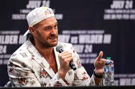 Tyson Fury: I'm quaking in my boots ...