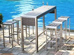 outdoor table and chairs. Best Outdoor Furniture Sets Amazing High Top Table Patio Set And Chairs G