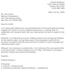 Awesome Collection Of Programmer Cover Letter Examples Cover Letter