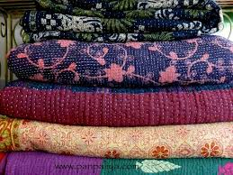 INDIAN VINTAGE KANTHA QUILTS & Product: Indian Vintage quilts Adamdwight.com