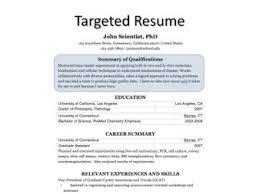 Targeted Resume Template Best of Targeted Resume Template Fastlunchrockco