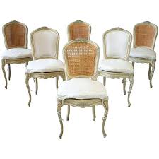 dining chairs french cane dining chairs exquisite vintage french round cane back collection dining chair