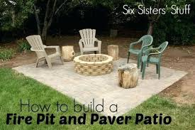 diy patio with fire pit. How To Build A Patio Fire Pit And Tutorial . Diy With