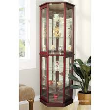 marvelous decoration wood curio cabinet with glass doors top 10 best curio cabinets for 2018