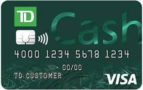 td bank rewards credit cards