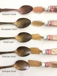 rub n buff gold test diy tutorial