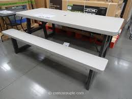 lifetime folding tables 6 costco folding picnic table gallery table decoration ideas