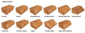 formica countertop edge profiles wood laminate kitchen counter top