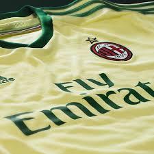 Ac milan yellow goalkeeper shorts 2020/21. Green Gold For Ac Milan S 2014 15 Third Kit Sbnation Com