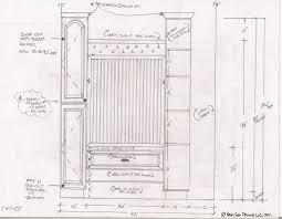 standard closet dimensions peytonmeyernet
