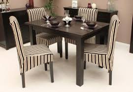 dark wood small dining table 4 seater wooden furniture small folding dining table and 4 chairs