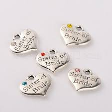 love heart charm pendant jewellery making