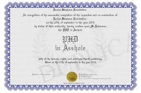 Phd In Asshole