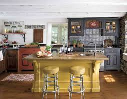 Interesting Kitchen Design Ideas Country Style American Intended Decorating