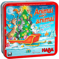 Juegos de mesa en navidad actualmente, la diversidad es un hecho y no todos los peques buscan lo mismo cuando de ocio se trata ni todas las familias optan por ofrecer los mismos juegos o juguetes a sus pequeños. Animal Sobre Animal Edicion Navidad En Juegos De Mesa Juegosalcubo Es