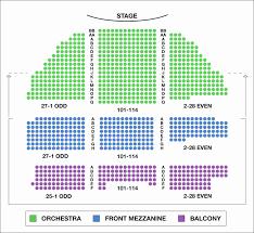 68 Efficient Fox Theatre Atlanta Detailed Seating Chart