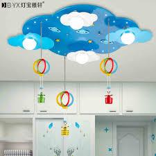 childrens bedroom lighting. 2016 New Children\u0027s Bedroom Cartoon LED Ceiling Lights Male Girl Room Stars Clouds Warm Creative Lighting Childrens