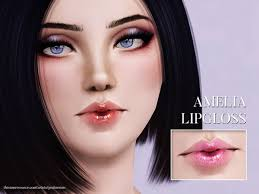 https://www.thesimsresource.com/artists/Pralinesims/downloads/details/category/sims3-makeup-lipstick/title/amelia-lipgloss/id/1375…  | Sims 3 makeup, Lip gloss, Sims