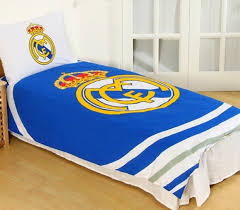 real madrid cf football club single quilt duvet doona cover