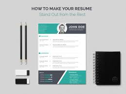How To Make Resume Stand Out How To Make Your Resume musiccityspiritsandcocktail 69