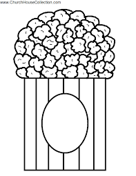 Small Picture Popcorn Coloring Pages To Download And Print For Free Coloring Home