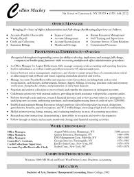 Office Manager Resume Example Create My Simple Visualize Include