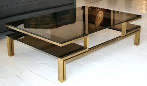 chrome and glass coffee tables smoked glass coffee table high shine chrome mirror finish inside coffee