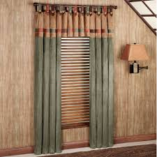 Window For Living Room Living Room Fusion Tab Top Window Treatments Design With Tab Top