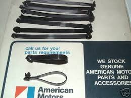 amc amx zeppy io wire harness straps looms amc amx javelin jeep rambler gremlin hornet eagle cj