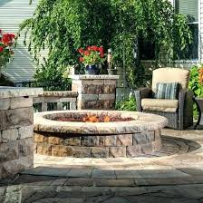 cost of outdoor fireplace backyard low effective b