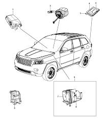 2015 jeep grand cherokee modules brake suspension steering