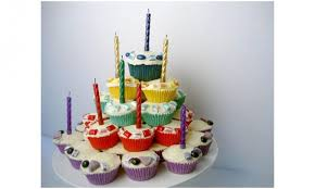 Cupcake Tower Birthday Cake Kidspot