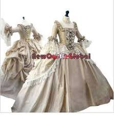 the ultimate rococo marie antoinette dress colonial georgian 18th century dress