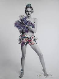 Twiggy Fashion Designer Twiggy In Vogue 1967 Twiggy Fashion Floral Fashion