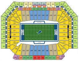 Nfl Football Stadiums Detroit Lions Stadium Ford Field