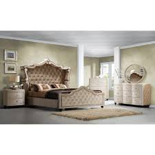 Meridian Bedroom Furniture Meridian Furniture Usa Diamond Panel Customizable Bedroom Set
