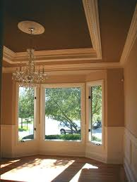 Tray Ceiling Great Tray Ceiling And Wainscoting Home Is Where The Heart Is