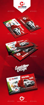 Car Wash Visiting Card Design Car Wash Business Card Templates By Grafilker Car Wash