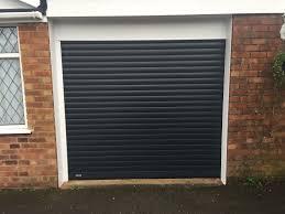 anthracite grey roller garage door ed in haddenham buckinghamshire by shutter spec security
