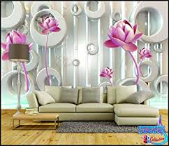 Small Picture Buy SWASTIK Flower Design Beautiful 3D Wallpaper Non Woven 12 x