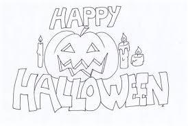 Disegni Da Stampare E Colorare Per Halloween Destinato Disegni