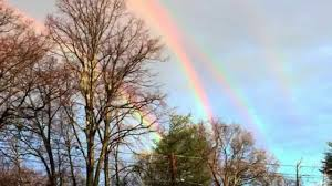 Stunning and incredibly rare QUADRUPLE <b>rainbow</b> over <b>Long</b> ...
