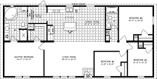 Manufactured Home Floor Plan: The Imperial Limited U2022 Model IMLT 45617B 4  Bedrooms, ...