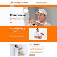 the painting company responsive template is exactly what you need to showcase your painting services for commercial as well as residential purposes