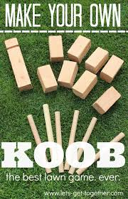 Wooden Yard Games