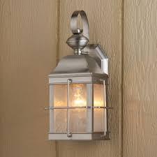 brushed nickel porch light shocking nautical inspired lantern outdoor wall lanterns home interior 21