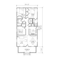 for home design ideas one story single narrow lot with front garage 3 beach house plans