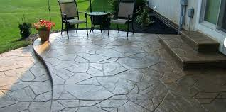 Concrete patio designs with fire pit Stained Concrete Concrete Patio Designs Stamped Patios Ideas With Fire Pit Meaningful Use Home Designs Concrete Patio Designs Kitchen Ideas Outdoor Furniture Attractive